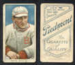 1909 T206     Herzog, Buck   Sweater   Boston Braves  Fair 209
