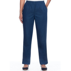 Short Proportioned Denim Pant