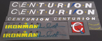 Centurion 1986 Ironman Bicycle Decal Set