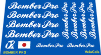 Bomber Pro Decal Set of 12 (sku 825)