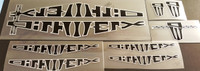 BMX Dirtwerx Decal Set of 8 (sku 684)
