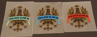 Bianchi Head Badge Decal - (Choose Color & Size)