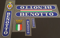 Benotto Bicycle Decal Set