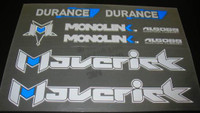 Maverick Durance Decal Set (sku 1073)