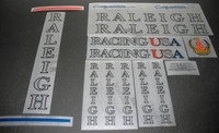 Raleigh Racing USA Decals Set with Model Options (sku 1104)