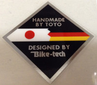 Handmade By Toyo Tubing Decal (sku 1256)