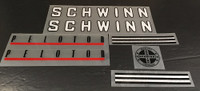 Schwinn Peloton Decal Set