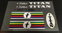 Titan Decal Set
