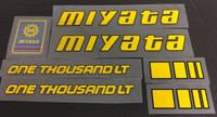 Miyata One Thousand LT Decal Set