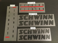 Schwinn 1986 Bicycle Decal Set (Many Model Options)