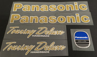 Panasonic Touring Deluxe Decal Set with Script Style Top Tube