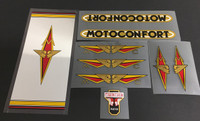 Motoconfort Decal Set