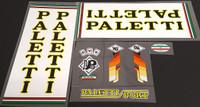 Paletti Sport Bicycle Decal Set