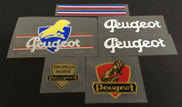 Early Peugeot Decal Set