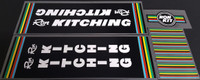 Ron Kitching Bicycle Decal Set