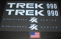 TREK ZX decal set - choice of model numbers  (sku 199)