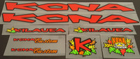 Kona 1997 Bicycle Decal Set - Multiple Model Options