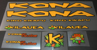 Kona King Kikapu Bicycle Decal Set