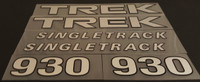 Trek 1994 Bicycle Decal Set -Multiple Model and Color Options