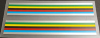 Olympic Stripes with Chrome Borders (Holdsworth)