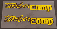 Ritchey Timber Comp Top Tube Decals - 1 Pair - Choose Color