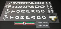 Torpado Super Racing Decal Set (sku 564)