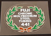 Fuji 441 Tubing Decal - Choose Black or White Lettering