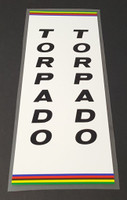 Torpado Seat Tube Wrap Decal - Choose Letter Color