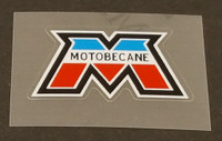 Motobecane Head Badge Decal with French Colors