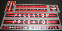 Schwinn Predator BMX Decal Set - Choice of Models