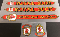 Royal Scot Decal Set (sku 10594)