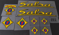 Salsa Bicycle Decal Set
