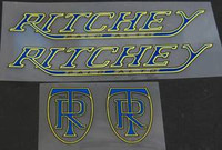 Ritchey Palo Alto Decal Set