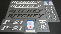 Ritchey P-21/22/23 Decal Set (sku 395)