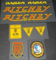 Ritchey Aspen Decal Set of 10 (sku 338)