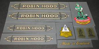 Raleigh Robin Hood Decal Set (sku 408)