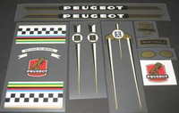 Peugeot U8-0 Decal Set (sku 879)