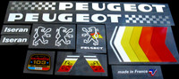Peugeot 1986 Iseran Bicycle Decal Set