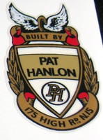Pat Hanlon Head Badge (sku 814)