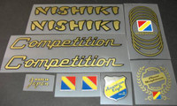 Nishiki Competition/Olympic Decal Set (sku 476)