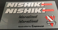 Nishiki International Decal Set (sku 867)