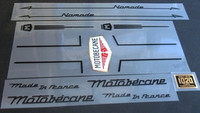 Motobecane Nomade Decal Set