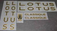 Lotus Decal Set - Several Model Options (sku 880)