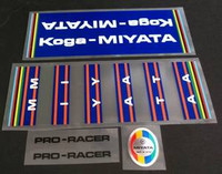 Koga Miyata Pro Racer Decal Set (Sku 935)