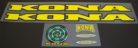 Kona Bicycle Decal Set