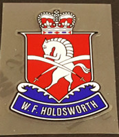 Holdsworth Headbadge Decal