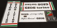 Gios Torino Super Record Bicycle Decal Set