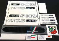 Gios Compact Decal Set of 15 (sku 412)