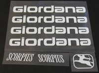 Giordana Decal Set (sku 922)