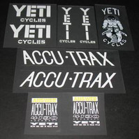 YETI FRO decal set of 9 (sku 351)